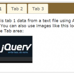How to create jQuery tabs by UI plugin with 5 examples