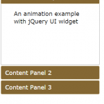 jQuery animate: 6 Demos with div, circle, text and UI element