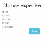 Bootstrap checkbox: 5 styles with demos online