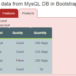 AJAX / Post in jQuery to load data from text / MySQL in Bootstrap tabs