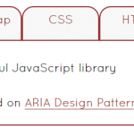 jQuery tabs plugin using ARIA with a demo