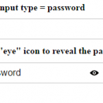 jQuery password reveal plug-in for input type password