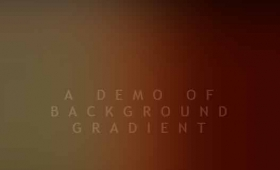 CSS gradient background with animation: 2 demos
