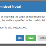 How to increase/decrease Bootstrap modal width and height?