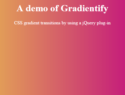 jquery gradient fast