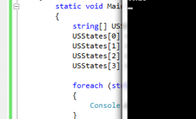 C# foreach statement with 3 examples