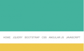 Easily create a jQuery and CSS fixed top menu on scroll: LIVE DEMO