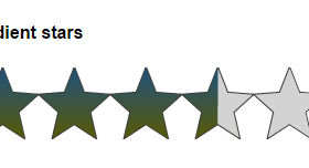 5 Demos of jQuery star rating plug-in: star-rating-svg