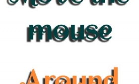 2 Demos of Creating animated text shadows by jQuery