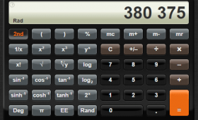 A CSS3 Simple and Scientific Calculator (iPhone clone) for your Website