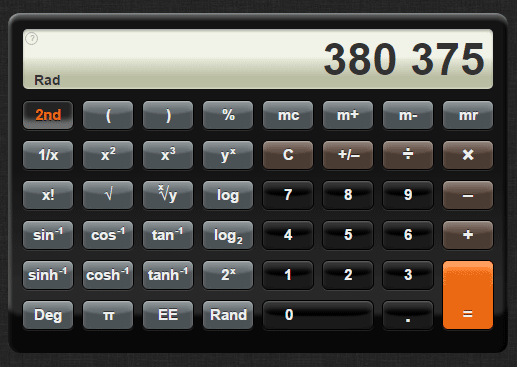 css calculator