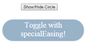 jQuery toggle method to show/hide elements with 6 examples