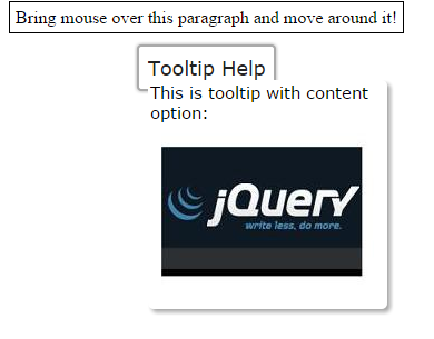 jquery tooltip content