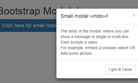 Bootstrap Modal with 7 FREE Templates