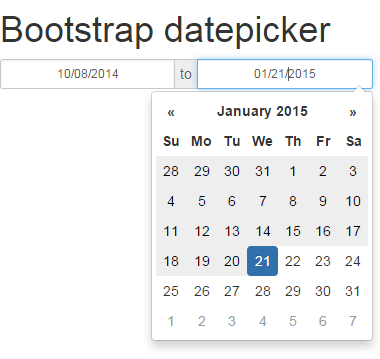 Bootstrap dating site