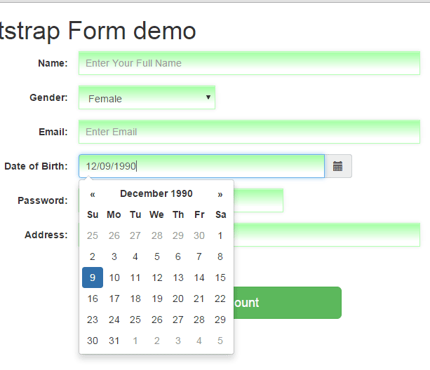 Bootstrap datepicker: Set up guide with 8 online demos and code