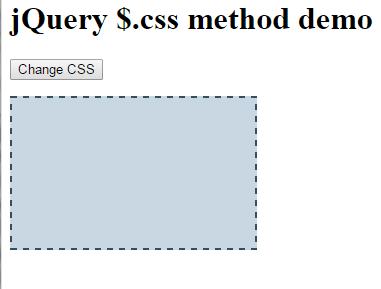 jQuery CSS div