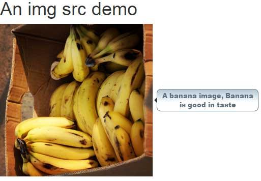 HTML img src tooltip