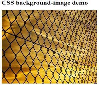CSS background image