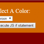 JavaScript if else statement with 4 online demos