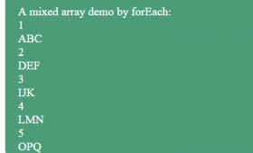 JavaScript forEach vs for loop to iterate through arrays