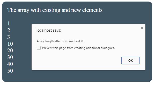 JavaScript length