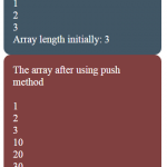 JavaScript array push Vs unshift methods: Explained with 4 examples