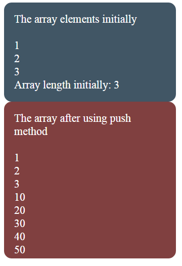 JavaScript array push Vs unshift methods: Explained with 4
