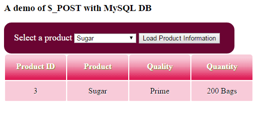 PHP-$ POST MySQL