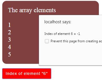 JavaScript indexOf contain
