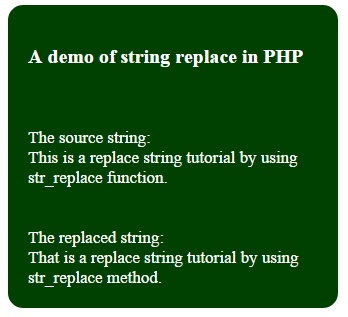 PHP str_replace arrays
