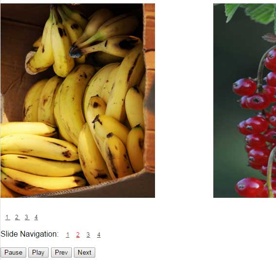 JavaScript image slider multiple