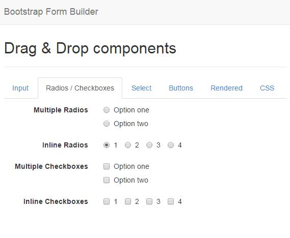 List Of 3 Free Bootstrap Form Builders