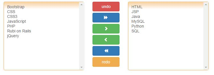 jQuery multi select style