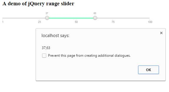 5 Demos Of Jquery Range Slider By Using A Plugin