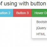Bootstrap dropdown menu on hover plug-in: 5 demos