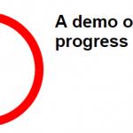 A jQuery radial progress bar plug-in with 4 demos