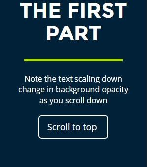Scroll Indicator Jquery