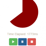 jQuery timer (SVG based) with 2 online examples