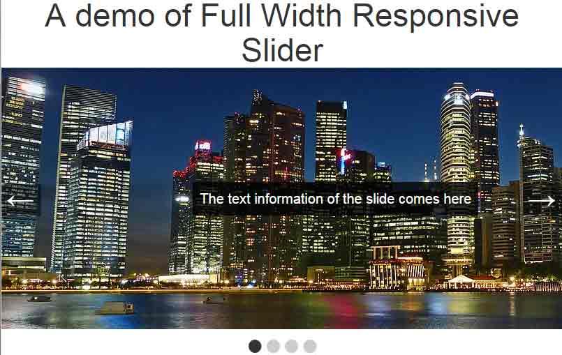 jQuery slider responsive