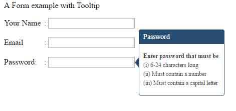 html5 tooltip form