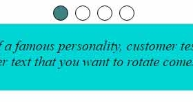 jQuery text / Quote / testimonial spinner plug-in: 2 demos