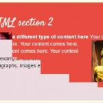 jQuery transition effect in HTML elements with animation