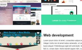 jQuery portfolio – mobile friendly plug-in for your website: 2 demos