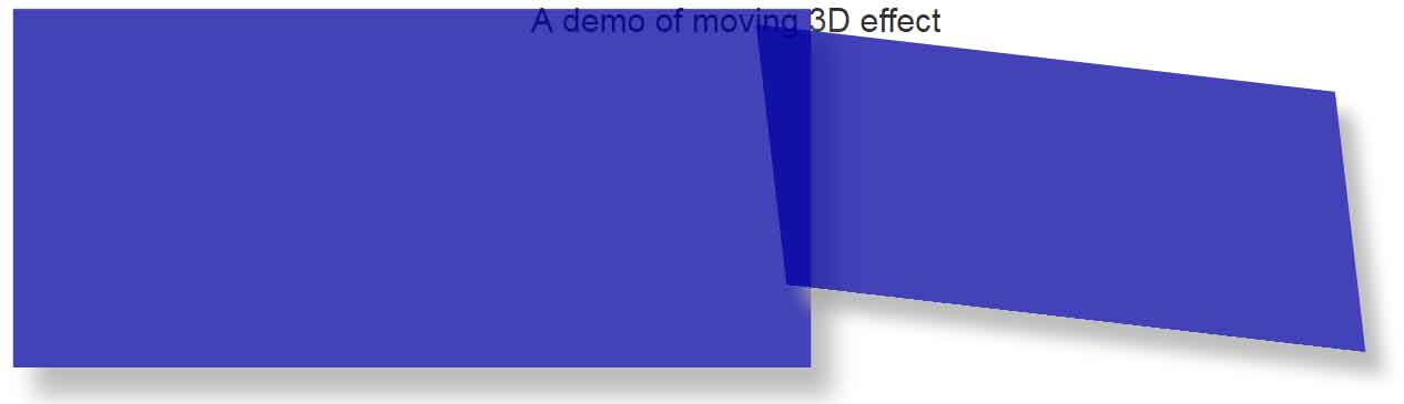 Rotate skew scale fade effects with css 3 jquery and - Jquery rotate div ...