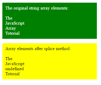 javascript array delete