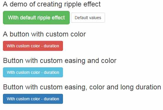 jquery ripple effect