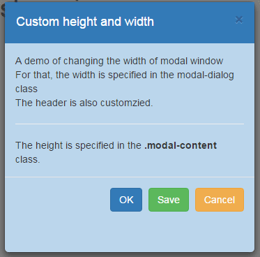bootstrap modal height wisth