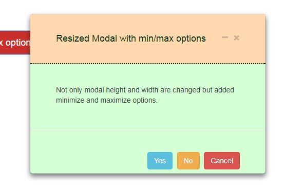 How to change Bootstrap Modal Width and Height - 3 Examples