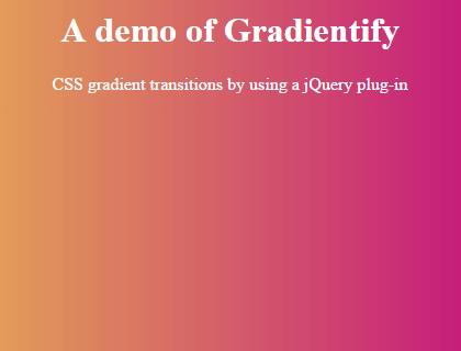 jquery gradient fast